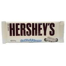 HERSHEY'S COOKIES AND CREAM 39G