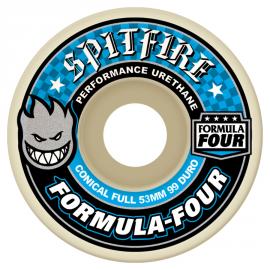 SPITFIRE WHEELS (JEU DE 4) 53MM F4 99D CONCL FULL