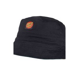 SANTA CRUZ HAT SUNFLOWERS BUCKET BLACK/SUNFLOWER PRINT