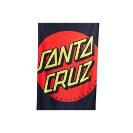 SANTA CRUZ ACCESSORIES CROP DOT BEACH TOWEL MULTI