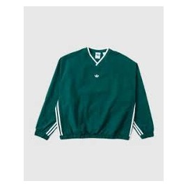 ADIDAS WIND PULLOVER GREEN/WHITE