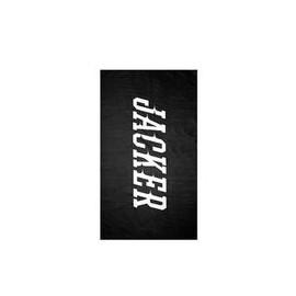 JACKER TEAM LOGO TOWEL BLACK