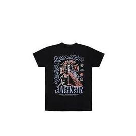 JACKER T-SHIRT PERCEPTION DOORS BLACK