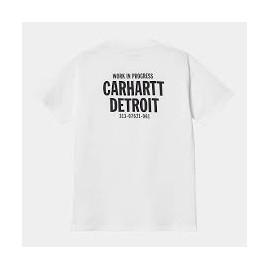 CARHARTT W' S/S STATE FLAG HEART T-S WHITE