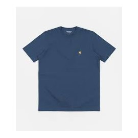 CARHARTT S/S CHASE T-SHIRT 100 % COTTON SKYDIVE / GOLD