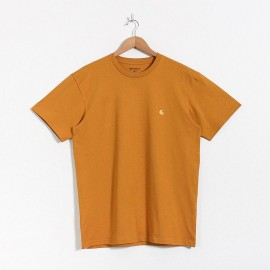 CARHARTT S/S CHASE T-SHIRT 100 % COTTON HELIOS / GOLD