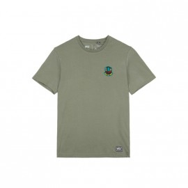 PICTURE MG BADGE TREE TEE DUSTY OLIVE