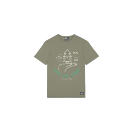 PICTURE MG TREE TEE DUSTY OLIVE