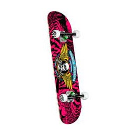 POWELL PERALTA COMPLETE 7.0 X 28.0 WINGED RIPPER PINK