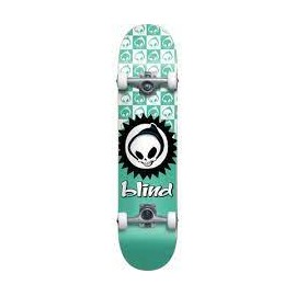 BLIND COMPLETE 7.375 X 29.8 MID CHECKERED REAPER SOFT W TEAL