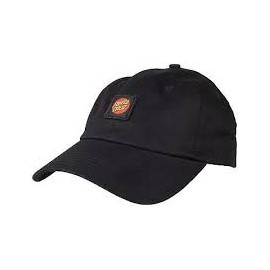 SANTA CRUZ CAP CLASSIC LABEL BLACK