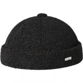 KANGOL PLUSH WATCH CAP BLACK