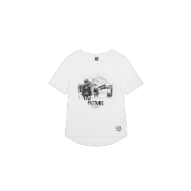 PICTURE D&S DOGGY BAG TEE WHITE