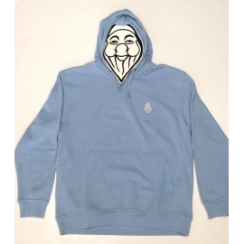 PISOLO BASIC HOODY 57 LIGHT BLUE