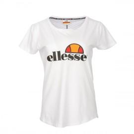 T-shirt Ellesse Blanc Uni Femme