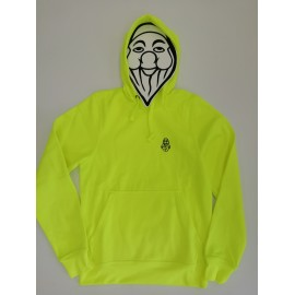PISOLO BASIC HOODY 11 VISIBILITY YELLOW