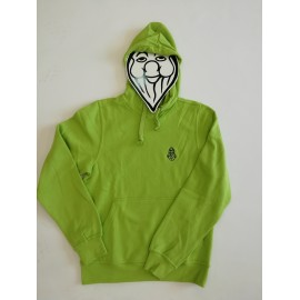 PISOLO BASIC HOODY 67 LIGHT GREEN
