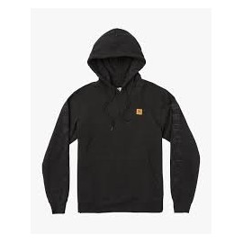 RVCA SMITH STREET HOODI BLACK