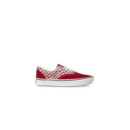 chaussure vans rouge a carreaux