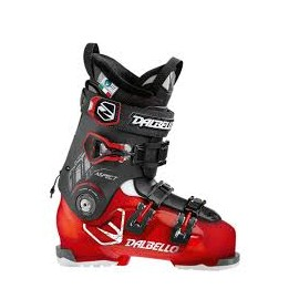 DALBELLO SKIBOOTS RED TRANSP/BLACK