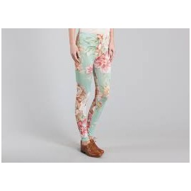 ALHOA FORM DEER FLOWER LEGGINS