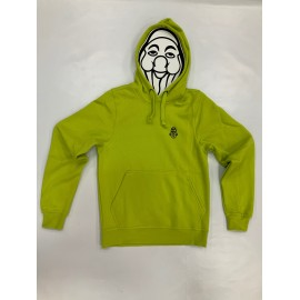 PISOLO BASIC HOODY 600 VISIBILITY GREEN