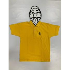 PISOLO JUNIOR POLO JAUNE (LOGO NOIR)