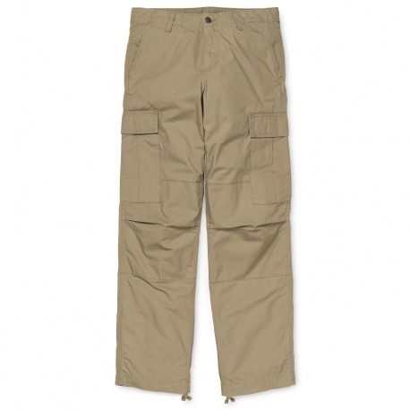 CARHARTT AVIATION PANT COTTON LEATHER RINSED