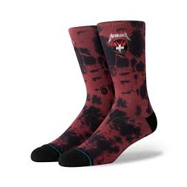 STANCE FOUNDATION MASTER OF PUPPETS RED