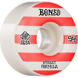 BONES WHEELS STF 54MM V4 PATTERNS 103A WHITE