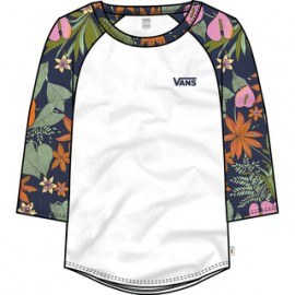 VANS NURSERY WHITE/MULTI TROPIC
