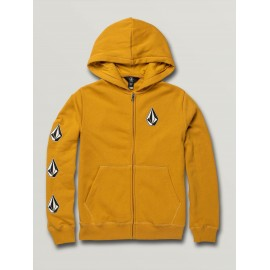 VOLCOM DEADLY STONES ZIP GOLD