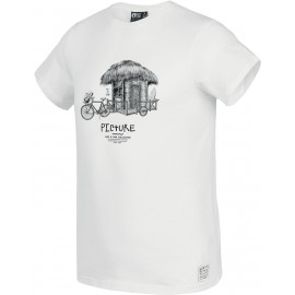 PICTURE D&S BIKE TEE WHITE