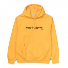 CARHARTT HOODED SWEAT SUNFLOWER/BLACK