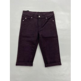 CHEAP MONDAY TIGHT COATED PLUM SHORT