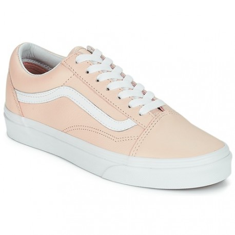 VANS OLD SKOOL ROSE ET BLANCHE