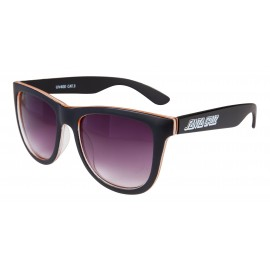 SANTA CRUZ SUNGLASSES BENCH SUNGLASSES BLACK/ORANGE