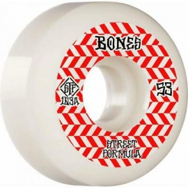 BONES WHEELS STF 103A WHITE