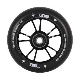 BLUNT WHEEL 10 SPOKES 100MM BLACK