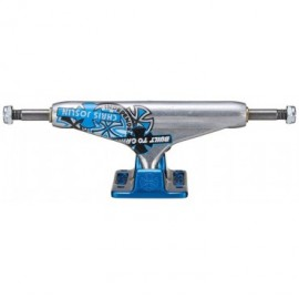 INDEPENDENT TRUCK PRO HOLLOW 139 FORGED JOSLIN SILVER BLUE