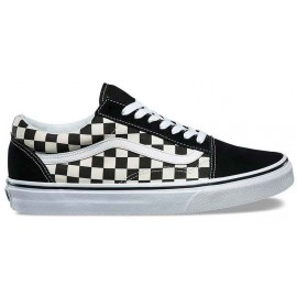 VANS OLD SKOOL PRIMARY CHECK BLACK/WHITE