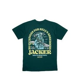 JACKER T-SHIRT SUPER STRIPES BLACK