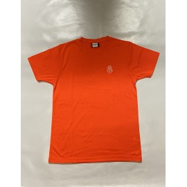 PISOLO T-SHIRT VISIBILITY ORANGE (LOGO BLANC)