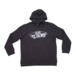 VANS BY OTW PULLOVER FLEECE BOYS BLACK/WHITE OUTLINE