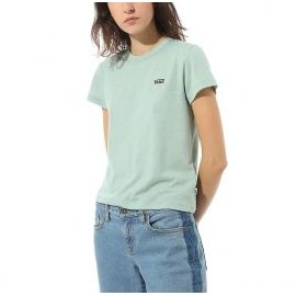 VANS WM HEART LIZZIE BABY TEE BLUE SURF