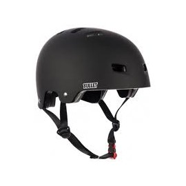 BULLET HELMET BLACK MATT MOUSSES S/M