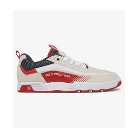 Chaussures DC Legacy 98 Slim Beige/Blanc/rouge