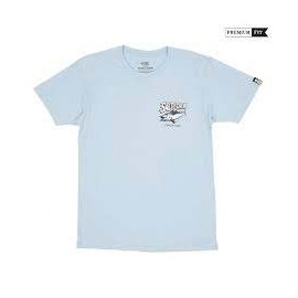 SALTY CREW SCREAMING PREMIUM S/S TEE BLUE