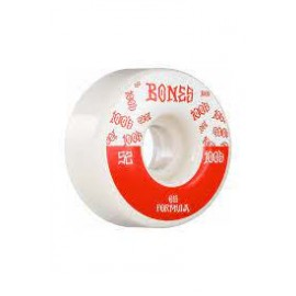 BONES WHEELS 100'S 53MM V5 WHITE