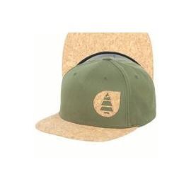 PICTURE NARROW CAP PK3 F DARK ARMY GREEN